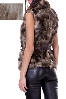 кожени облекла от естествен косъм